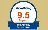 Avvo Rating Top Attorney Constuction
